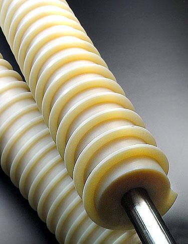 Schnecken für Trogförderer aus Kunststoff